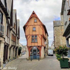 Una de las casas de la Rue de la Poterie.